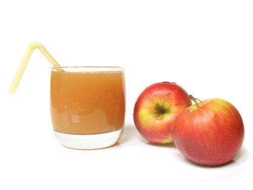 Jengibre y zumo de manzana
