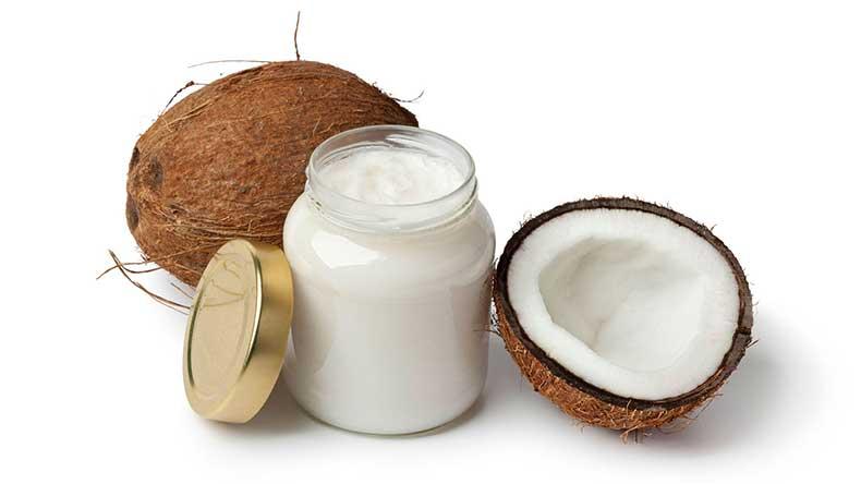 mayonesa y aceite de coco