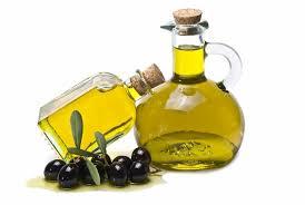mayonesa y aceite de oliva