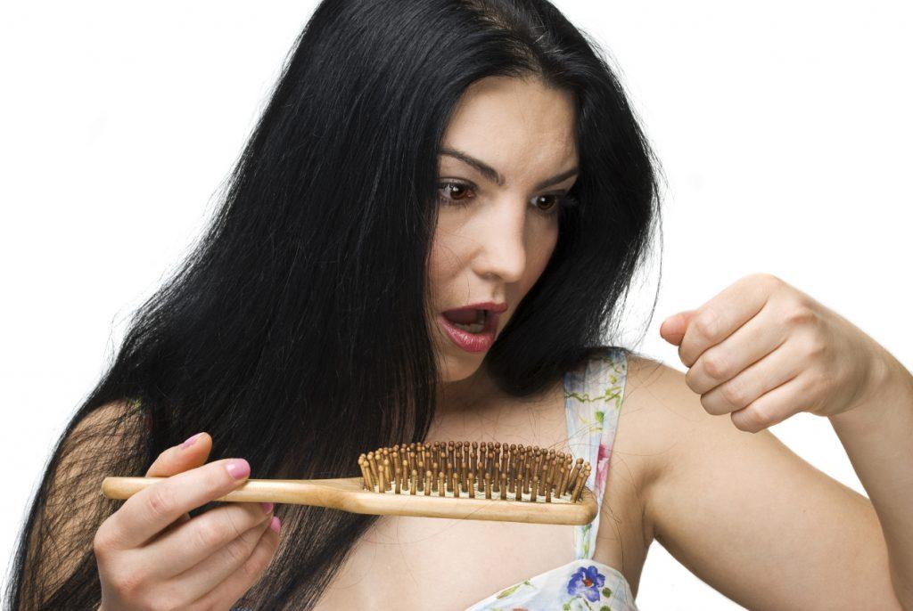 yogur y platano para el crecimiento del cabello
