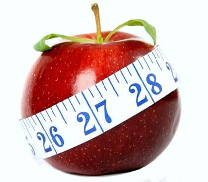 la dieta de la manzana