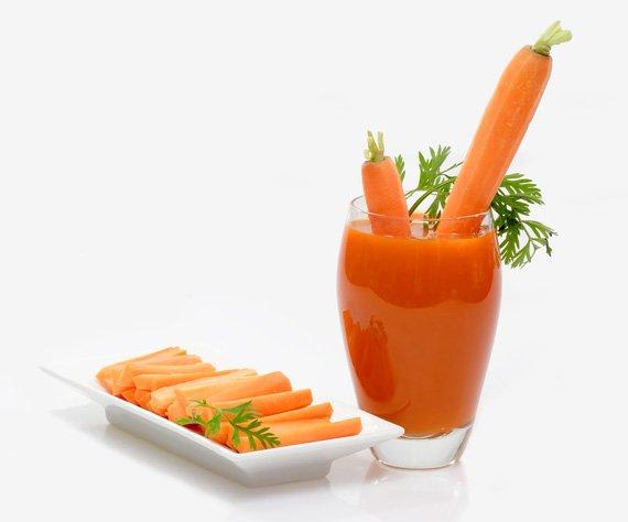 receta de jugo de zanahoria