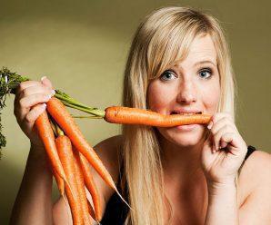 Beneficios de las zanahorias para bajar de peso y la salud