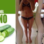 ¿Cómo Perder 7 kg en 14 días con la dieta del pepino?
