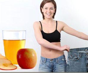 ¿Se puede adelgazar durmiendo bebiendo vinagre de sidra de manzana?