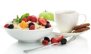 un buen desayuno por la mañana