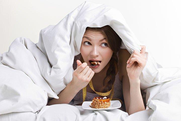 Comer antes de ir a la cama es saludable
