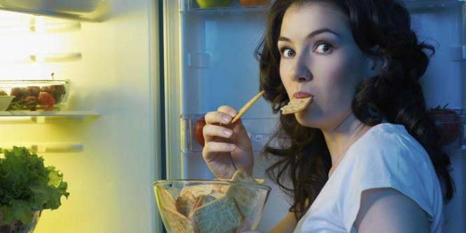 ¿Qúe comer antes de ir a dormir para perder peso?